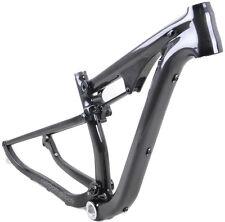 "29er Carbon Fiber Full Suspension Frame MTB Carbon Bike Frame 15.5"" 3k glossy"