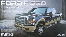 Meng 1 35 escala Ford Fscale350 Super Duty Crew Cab modelo kit