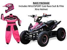 Kids 49cc Quad Bike PACKAGE w/ Race Suit & Helmet