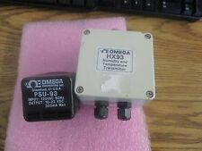 Omega Engineering HX93 V Humidity and Temperature Transmitter with Adapter  <