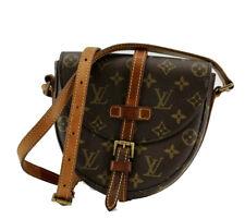 Louis Vuitton Monogram Small Crossbody Shoulder Bag Chantilly PM Brown Vintage