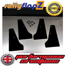 Miniflapz Subaru Impreza (01-07) MINI ANTIBECCHEGGIO / Splash guardie qty4 Nero 3mm PVC