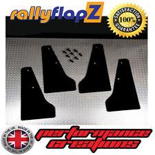 miniflapZ SUBARU IMPREZA (01-07) Mini Mudflaps/Splash Guards Qty4 Black 3mm PVC
