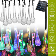 Solar Powered 30 LED String Light Garden Patio Landscape Lamp Party Yard Outdoor