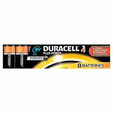 Duracell Plus Power Alkaline 9 V Non-rechargeable Battery BBE: 2019, 8 Batteries