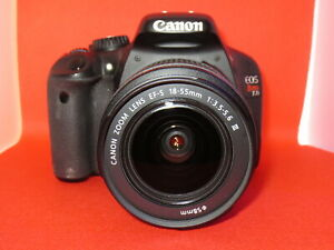 Canon T2i  550D  Digital Camera + Mint  Canon Lens 18-55 Mark III +32GB