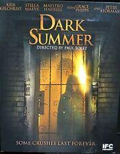 Dark Summer, New! Blu-Ray, Peter Stormare, Keir Gilchrist , Horror, Haunting