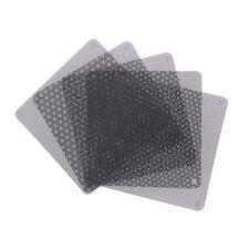 5pcs 120mm negro PC fan Dust filtro polvo caso malla de ordenador SP