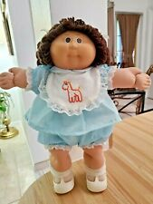 Cabbage Patch Kids Japan Tsukuda Girl w/Brown (Braids) Hair & Eyes-Too Cute!