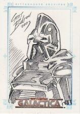 Complete Battlestar Galactica Chris Bolson / Cylon Sketch Card