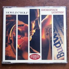 HOWLIN' WOLF - SMOKESTACK LIGHTNIN'  UK CD * Aerosmith Rolling Stones Howling