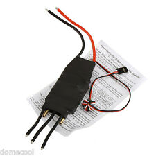 80A Brushless Water Cooling Electric Speed Controller ESC w/ 5V/5A SBEC RC Boat