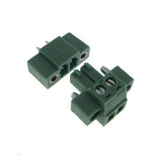 2 Positions 3.81mm Screw Terminal Block Wire to Board Free Hanging Header Plug