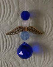 Crystal Suncatcher Angelo, 20 mm cristallo con Perline Multi/colori, 225 mm.