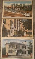 Postcards From The Shenandoah valley 3 Different 1930s-1940s mint never Usedlot1
