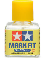 TAMIYA 87102 Mark Fit Finishing Decal Cement Glue 40ml PLASTIC MODEL KIT TOOLS