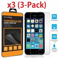 High Quality Film Real Premium Tempered Glass Screen Protector for iPhone 5S 5C