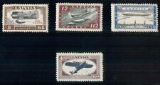 LATVIA #CB21-4, Complete Airmail set, og, LH, VF, Scott $170.00