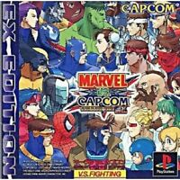 PS1 Marvel vs. Capcom Clash of Super Heroes EX Edition PS PlayStation 1 F/S