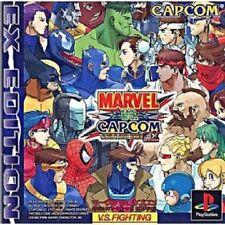 PS1 Marvel vs. Capcom Clash of Super Heroes EX Edition PS PlayStation 1 F/S
