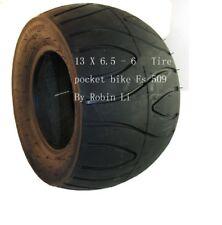 2 stroke 49cc pocket bike Fs509 Cat Eye 13 x 6.5 - 6 Rear Tire water threads