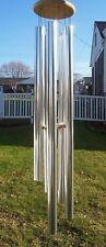 Echo 53in Windchime Tubular Aluminum & Wood Chime Wind Noisemakers
