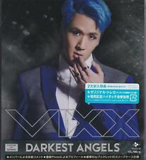 New VIXX DARKEST ANGELS First Limited Edition E RAVI [CD+DVD+Card+Booklet] VUZJ8