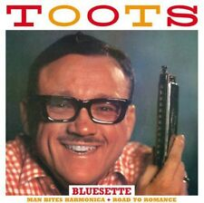 Toots Thielemans, To - Man Bites Harmonica / Road to Romance [New CD]