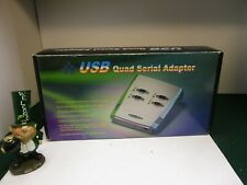 NEW VSCOMM USB Quad Serial Adapter box (Windows XP/7/8.1/10)