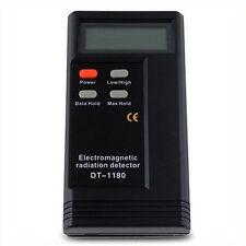 Multi-meter lcd digital radiation électromagnétique détecteur emf gauss