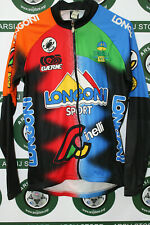 giacca jacket ciclismo bike shirt maillot trikot CASTELLI LONGONI TG S H91