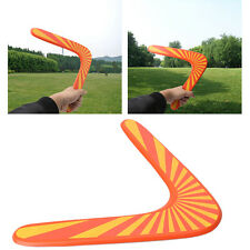 Wooden Boomerang Classic V Shape Frisbee Flying Saucer Toys Outdoor Toys