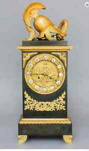 FRENCH STYLE ANTIQUE MANTEL CLOCK