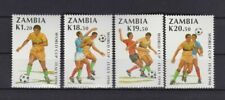 s6556) ZAMBIA 1990 MNH** WC Football'90-CM Calcio 4v