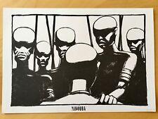 Rare Tiré à part / ex libris / dessin « YAKOUBA » de Thierry Dedieu - numéroté