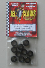 1/64 Rubber Racing Tires TYC Magnum 440-X2 FRONTS 10 JEL CLAWS CAR SLOT RC 2070F