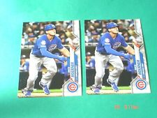 (2X) NICO HOERNER RC 2020 Topps *Rookie* cards #70 (Cubs)