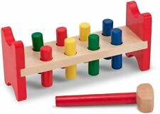 Melissa & Doug Pound-A-Peg Wooden Toy Baby Toddler Child Gift Fun Play