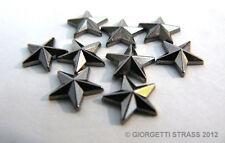 BORCHIE a STELLA 13mm 20pz Grigio Brunito per scarpe Hotfix star termoadesive