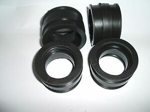 TRIUMPH 1200 1000  DAYTONA  TROPHY INLET INTAKE RUBBER JOINTS *NEW* CARBURETTOR