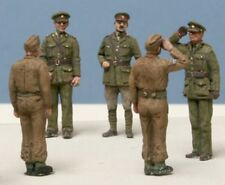 Milicast FIG100 1/76 Resin WWII British Soldiers on Parade