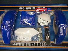 New WR WRF 400 426 98-02 Plastic Kit Enduro Plastics White Headlight Rear Light