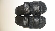 Pali Hawaii Sandals PH405 - 1 PAIR SIZE 9 BLACK