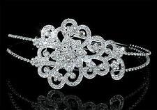 Hochzeit Blume Diadem Benutzen Swarovski Kristall T1451