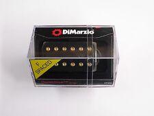 DiMarzio F-spaced Dominion Bridge Humbucker Black W/Gold Poles DP 245