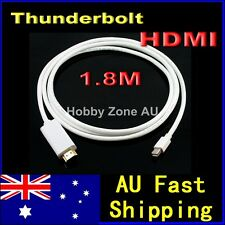 Thunderbolt Port to HDMI Male 6FT 1.8M Cable For MacBook Pro Air to 3D HDTV