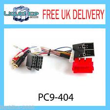 PC9-404 AUDI A2 A3 A4 A6 A8 Amplifié RCA à ISO plomb demi amlified Systems voiture