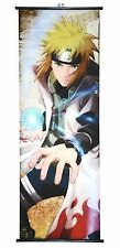 Wall Scroll Poster Fabric Painting Anime Naruto Namikaze Minato 17.7X49.2 inches