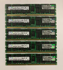 LOT Samsung Server Ram (5 Pieces) 16GB 2Rx4 PC3L-10600R (80GB)