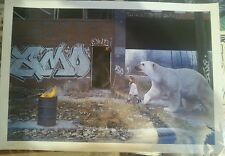 """KEVIN PETERSON """"Protector"""" #12 LE Print, Signed, #'d - josh keyes jeremy geddes"""